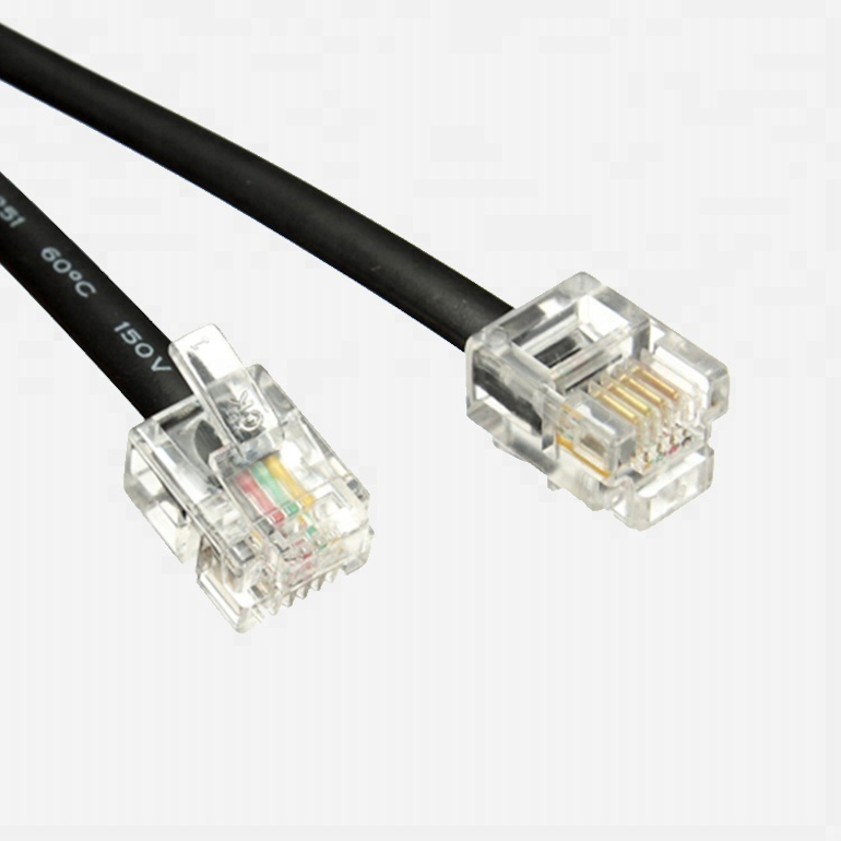6P4C Telephone Cable|Chung Yi Enterprise Crop.