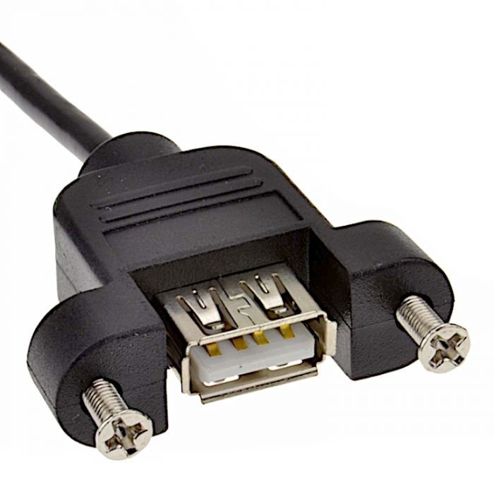 USB AM-AF Panel Mount Cable|Chung Yi Enterprise Crop.