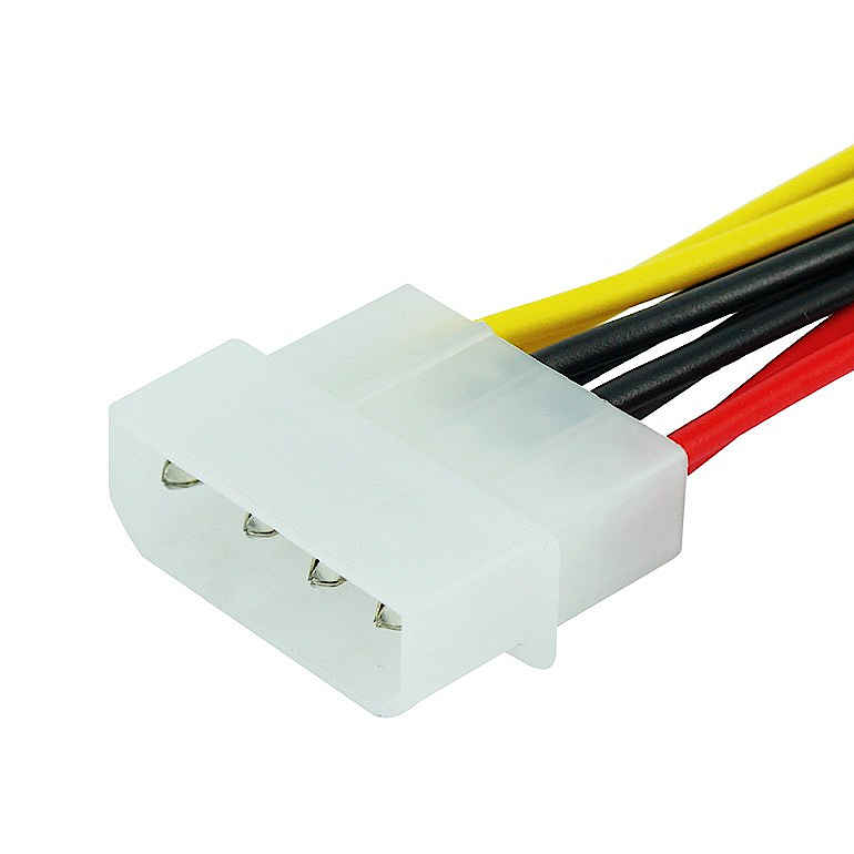 IDE 1 to 3 Power Splitter Extension Cable|Chung Yi Enterprise Crop.